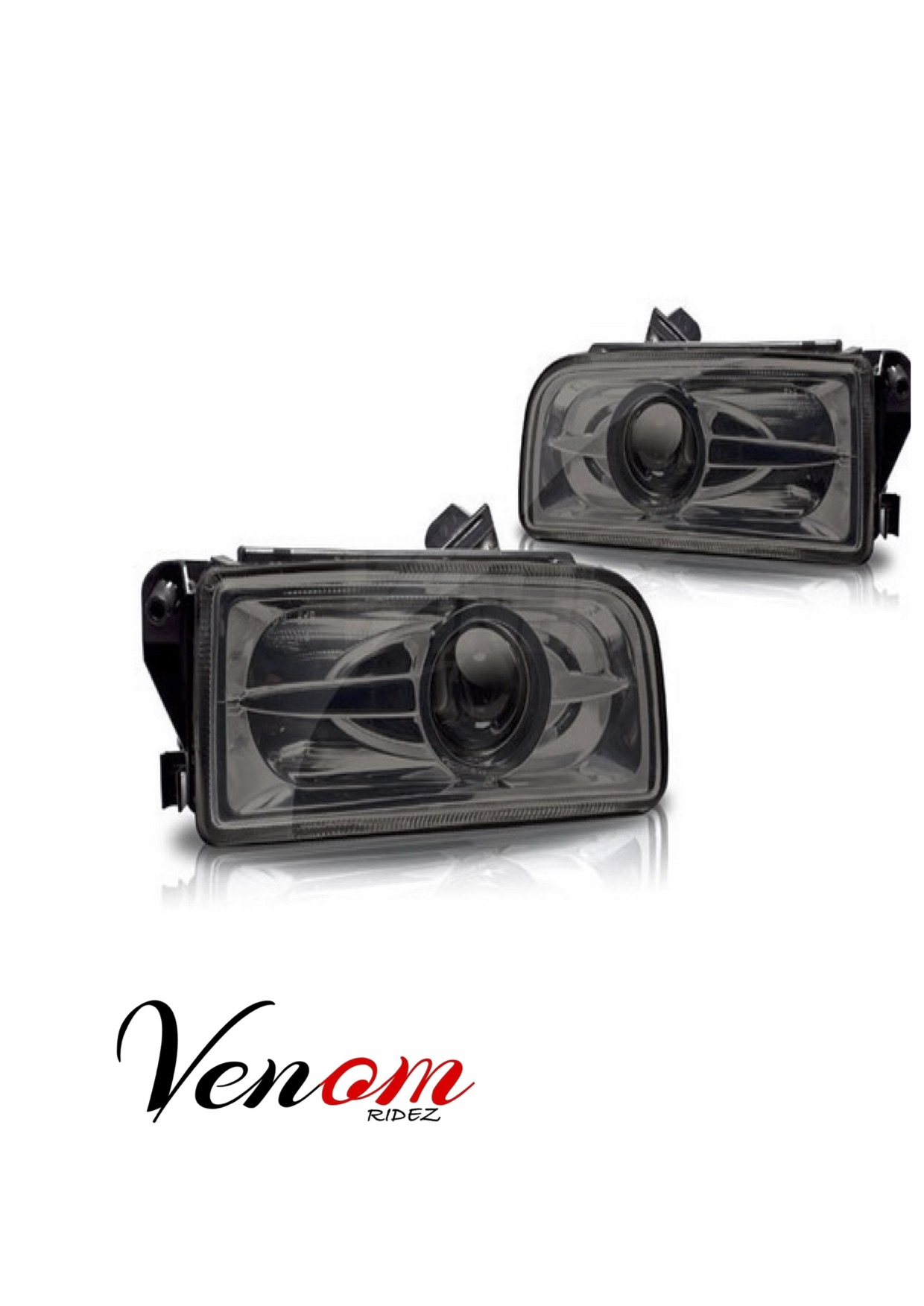 Bmw Fog Lamp Oem With Cat Eye Projector Smoked
