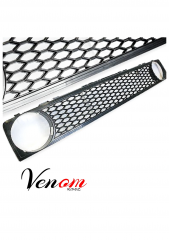 GOLF 1 HONEYCOMB GRILLE SINGLE HOLE3