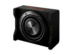 Pioneer TS-SWX2002 600W 150W RMS 8inch Shallow-Mount with Enclosure