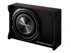 Pioneer TS-SWX3002 1500W 400W RMS 12inch Shallow-Mount with Enclosure
